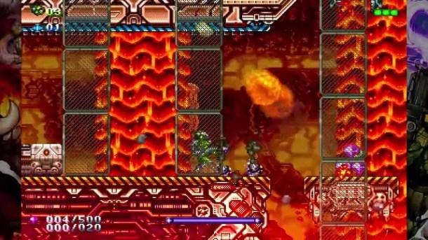 Gunlord X Screen