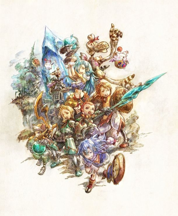 Most Anticipated 2020   Final Fantasy Crystal Chronicles Remastered