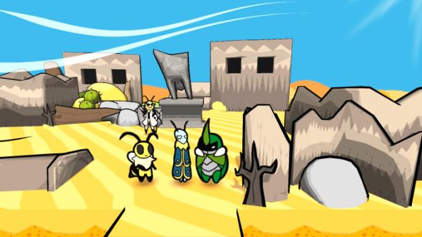Bug Fables | A desert