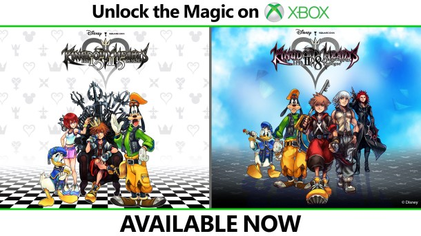 Kingdom Hearts 1&2 Xbox