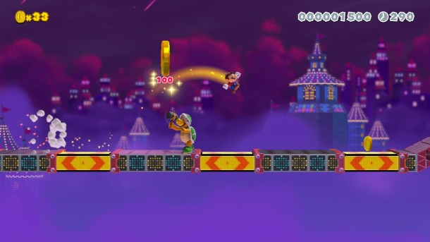 Making It Rainfall | Mario.Trip.Runner 2