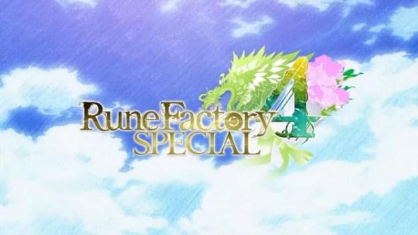 Rune Factory 4 Special | Logo