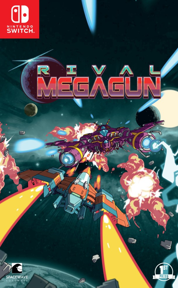 Rival Megagun | Switch Coverart