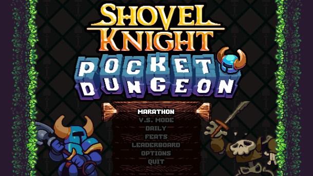 Shovel Knight Pocket Dungeon | Title