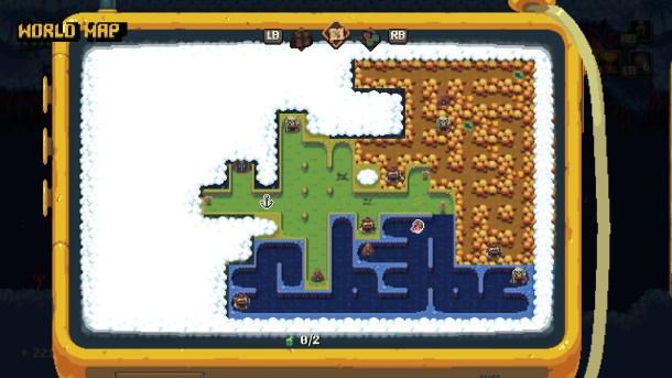 Sparklite | Map Screen