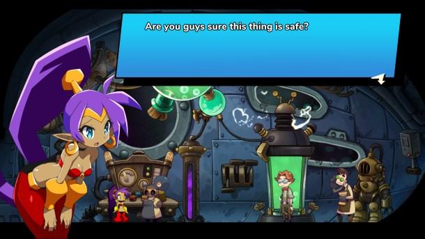 Shantae and the Seven Sirens | Dialogue