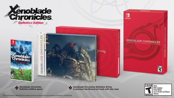 Xenoblade Chronicles Definitive Edition | Definitive Works Set