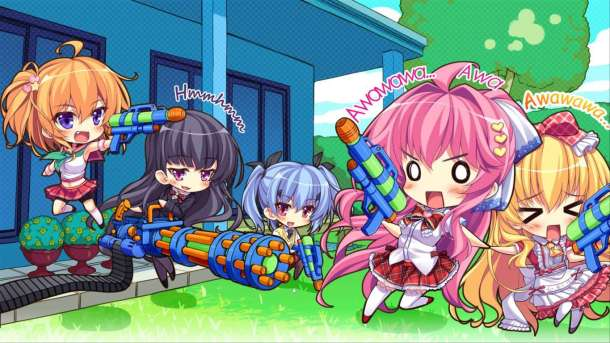 imouto paradise 3 | water fight