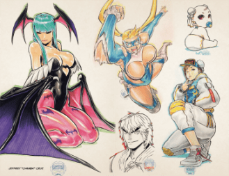 UDON X Capcom Sketchbook Alpha
