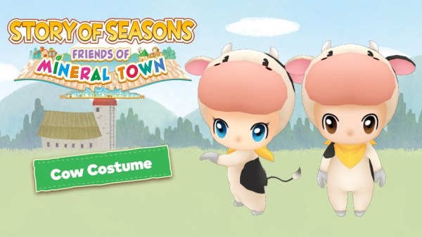 STORY OF SEASONS: Friends of Mineral Town | Cow Costume DLC