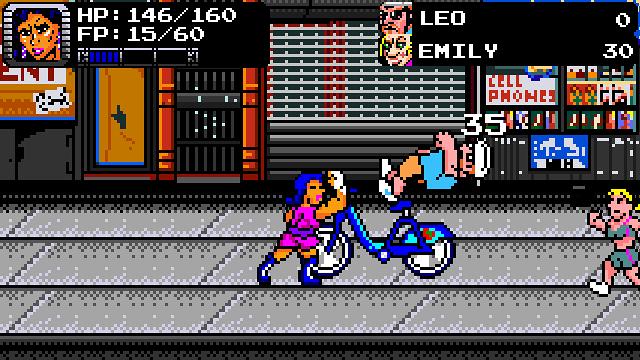 Treachery In Beatdown City | Uppercut off a Bike