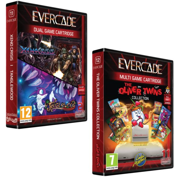 evercade cartridges
