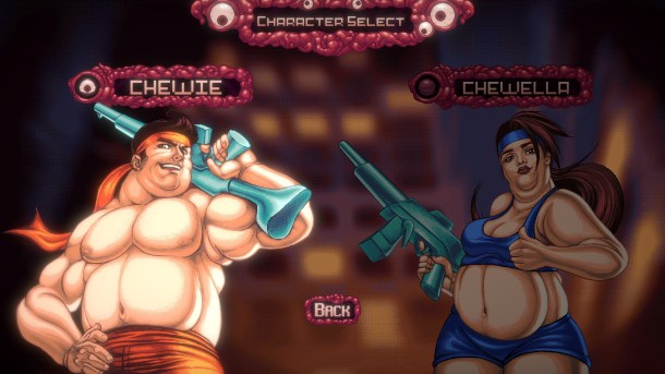 Bite the Bullet | Character Select