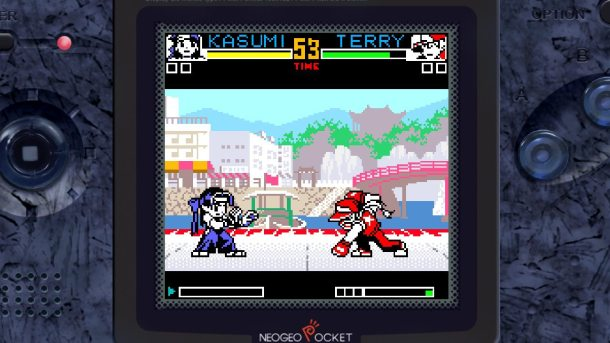 King of Fighters R-2   Fight