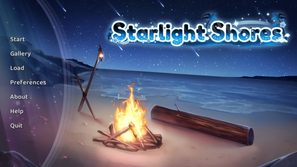 Starlight Shores | Title Screen
