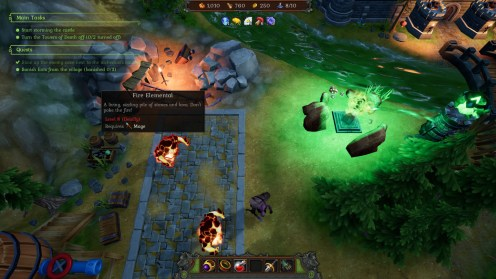 Chapter 8 - Deal with fire elementals, zombie mages, and Towers of Death!