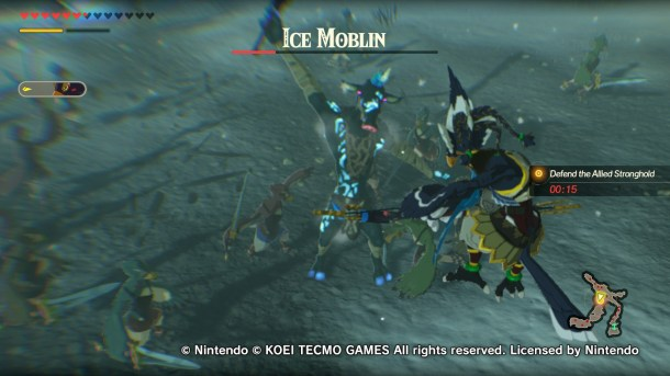 Hyrule Warriors: Age of Calamity | Revali attacks from the sky