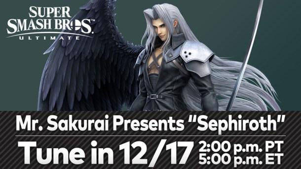 Final Fantasy VII | Sephiroth in Smash