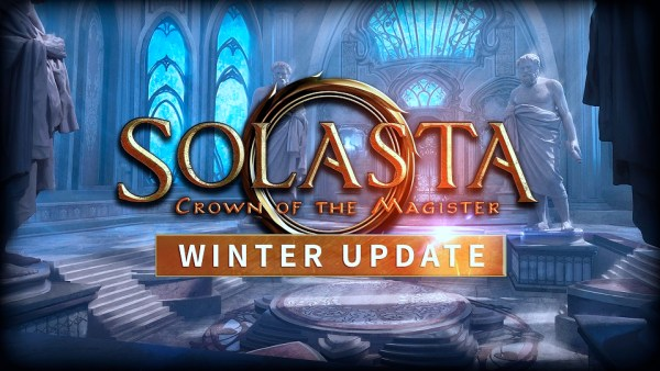 Solasta: Crown of the Magister | Winter Update Logo