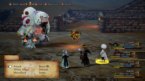 Bravely Default II | Battle