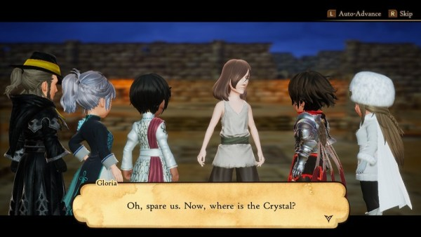 Bravely Default II | A bit of the demo's story