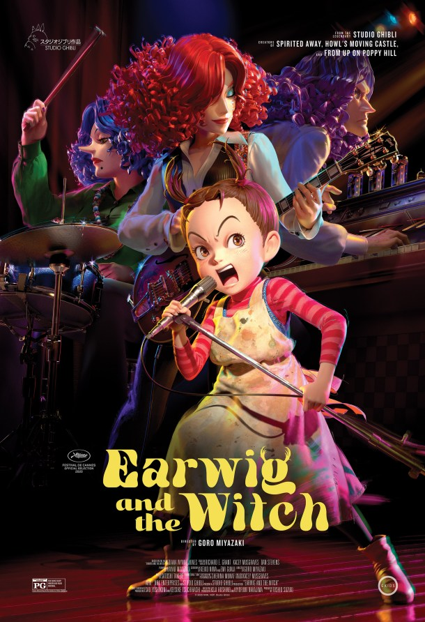 Earwig and the Witch | US Poster