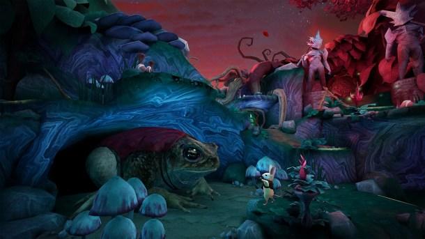 Moss | Toad in Twilight Garden Hub Area