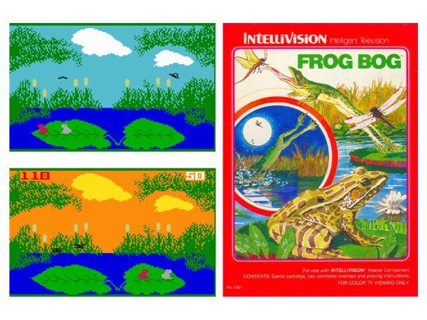 Frog Bog | Retro Fly Catching