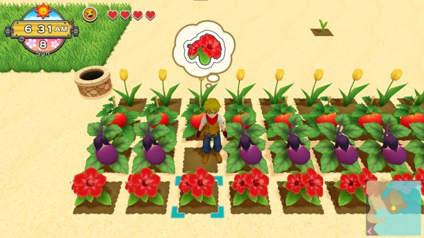 Natsume | Harvest Moon One World Planting Crops
