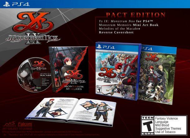 Ys IX: Monstrum Nox | Pact Edition
