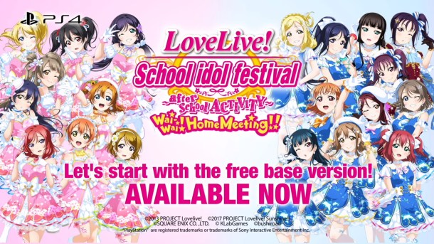 Love Live! SIFAC Wai-Wai! Home Meeting!! | Available Now