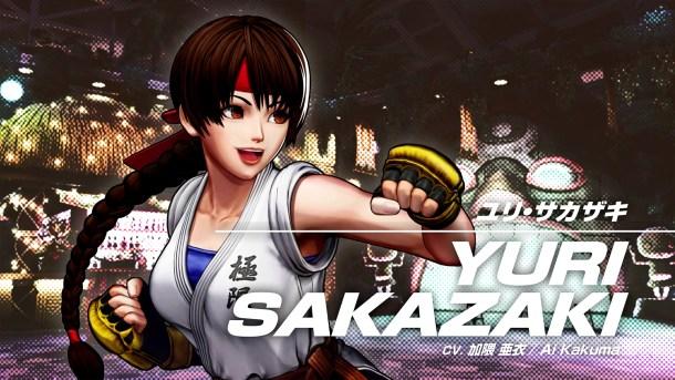 The King of Fighters XV | Yuri Sakazaki