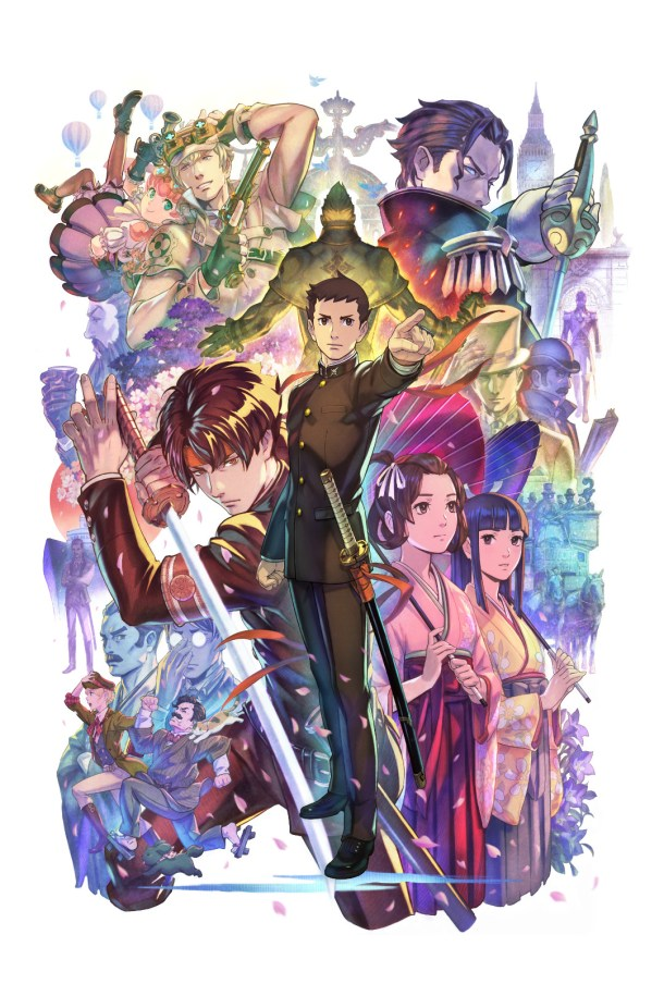 The Great Ace Attorney Chronicles | Key Art