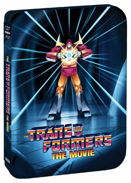 THE TRANSFORMERS - THE MOVIE   35th Anniversary Limited Edition SteelBook