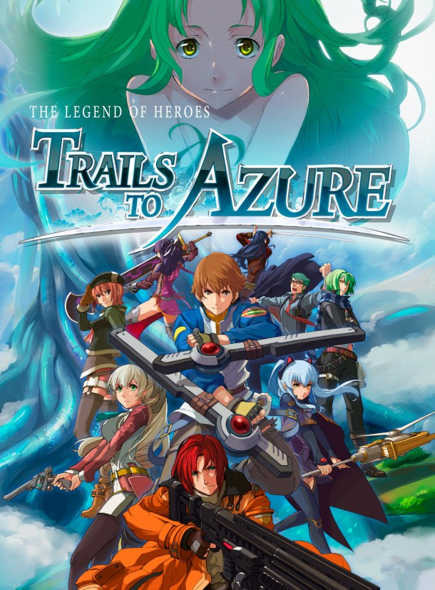 The Legend of Heroes: Trails to Azure | Cover