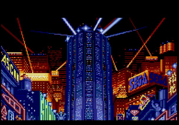 Neo Kobe in SNATCHER looks like a city out of Bladerunner