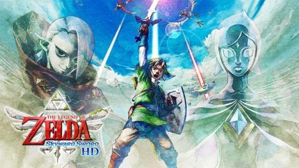 The Legend of Zelda: Skyward Sword | Official Logo Art