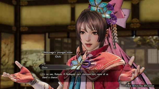 Samurai Warriors 5 | Oichi