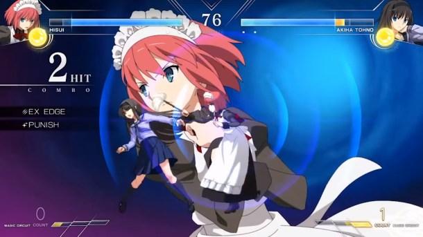 Melty Blood: Type Lumina | Hisui vs. Akiha