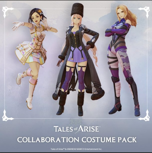 Tales of Arise   Collaboration DLC Pack