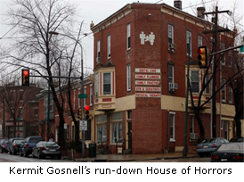 Dr. Gosnell's unsanitary, run down Women's Clinic where the grisly scene was discovered.