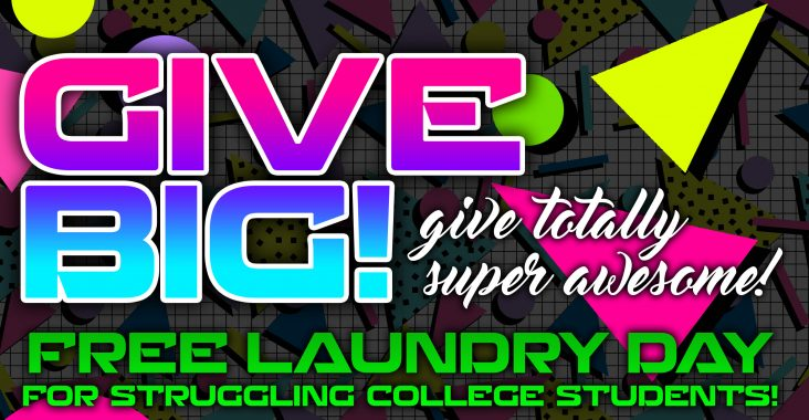 Operation Warm Wishes Presents Give Big Give Totally Super Awesome FREE Laundry Day For