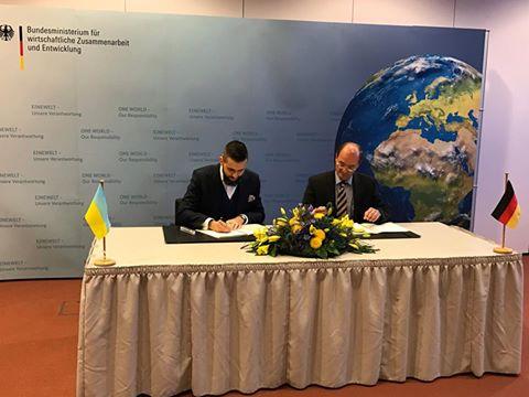 Германия выделит Украине 72 млн евро на развитие и помощь переселенцам