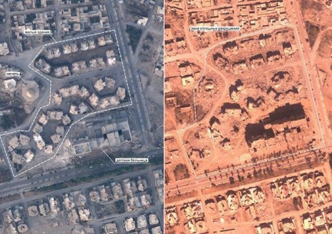 Обнародованы фотодоказательства разрушений, которые нанесла коалиция в Ракке 1