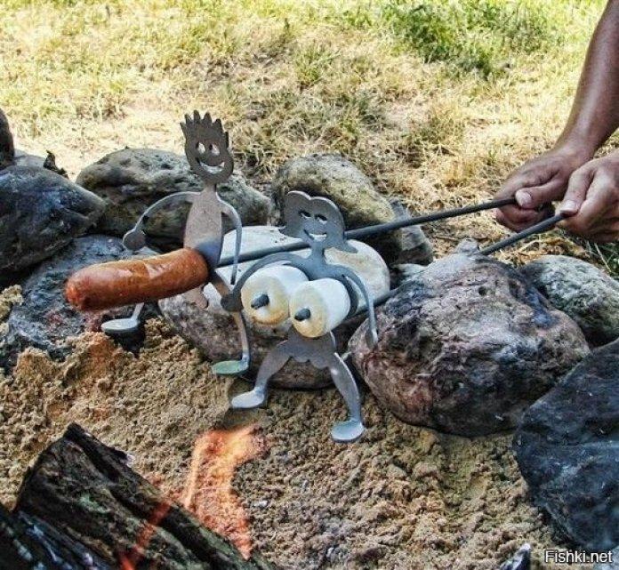 Необычные идеи мангалов для хорошей прожарки мяска ? 31