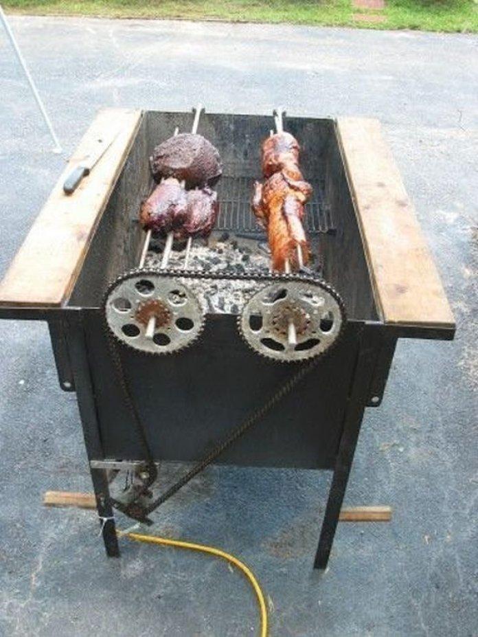 Необычные идеи мангалов для хорошей прожарки мяска ? 2
