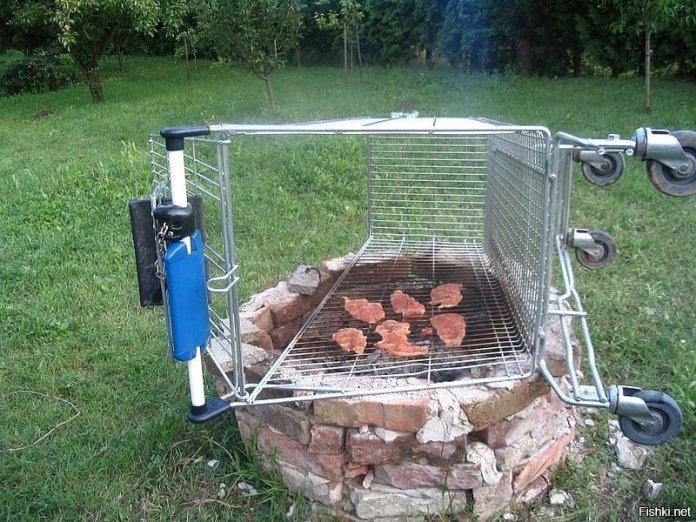 Необычные идеи мангалов для хорошей прожарки мяска ? 32