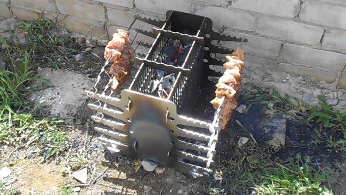 Необычные идеи мангалов для хорошей прожарки мяска ? 21