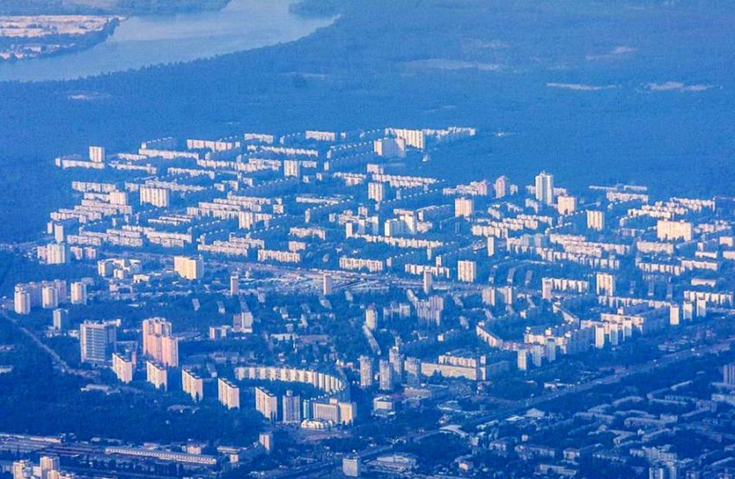 В Киеве на жилом массиве Лесной появилась улица Кубанской Украины / фото Wikimapia