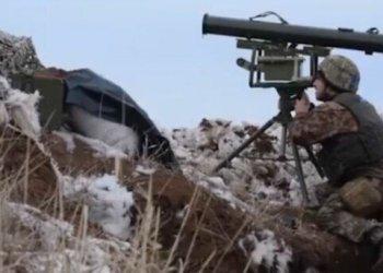 ВСУ ударили из «Корсара» по позиции боевиков: появилось видео - СЕГОДНЯ 1